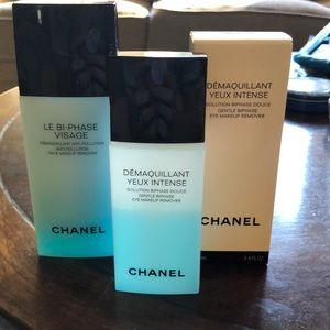 Chanel Biphase Makeup remover set